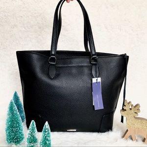 Rebecca Minkoff Leather black tote bag NWT